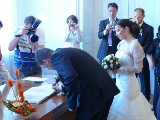 André és Felicia esküvője