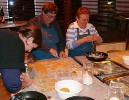 Készül a tészta