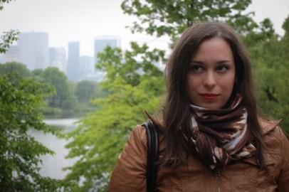 Ági - New York - Central Park