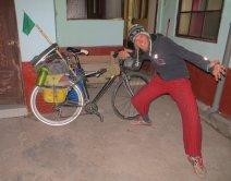 Benjamin et son super vélo