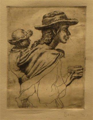 Croquis d'Antonio Berni