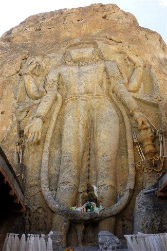 Bouddha géant de Mulbek