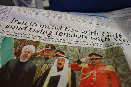 Les titres de journaux dans l'avion Turkish Airlines