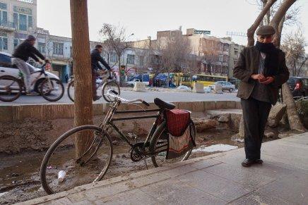 Les sacoches de vélo d'Iran, omniprésentes, même sur les motos