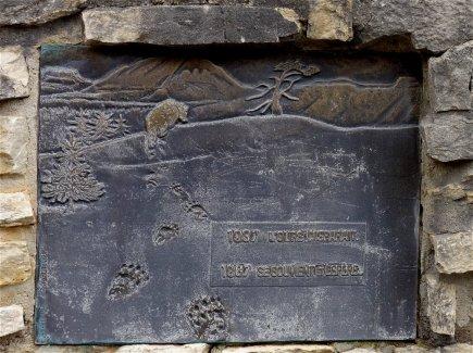 Cinquentennaire (en 1987) de la disparition de l'Ours du Vercors