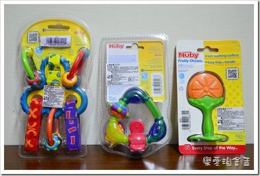 NUBY固齒玩具組(多功能固齒器 + 三角咬環 + 水果固齒器) – Olivia Baby 萌版嘻遊記