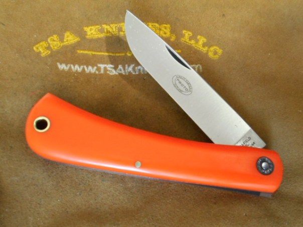 GEC 21 Bull Buster Orange Delrin