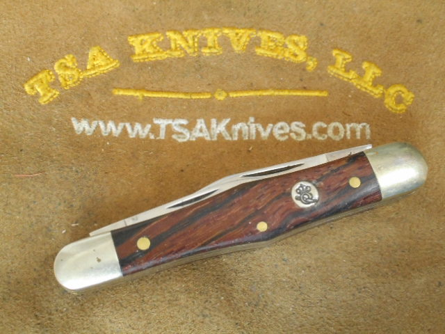 Queen #48 Whittler Curly Zebra Wood