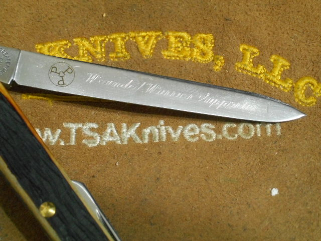 GEC 892309 Jig Burnt Stag Wounded Warrior Project Auction Knife