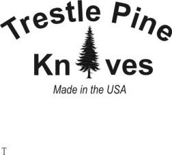 Trestle Pine Knives Tang Stamp