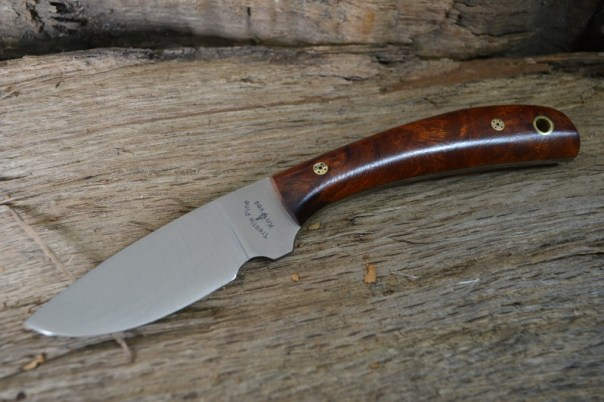 Trestle Pine Knives Buddy, with Exhibition Grade Desert Ironwood