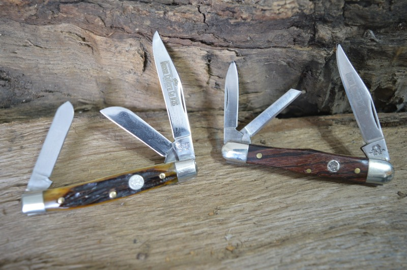 #26 Small Stockman (L) #48 Whittler (R)