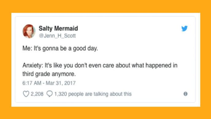 Image result for salty mermaid anxiety