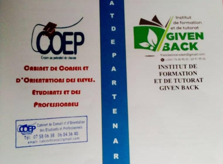 GIVEN BACK et COEP désormais partenaires pour une meilleure transmission du savoir