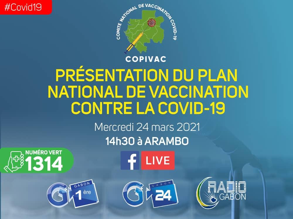 Gabon/Copivac: Présentation du plan national de vaccination contre la covid-19