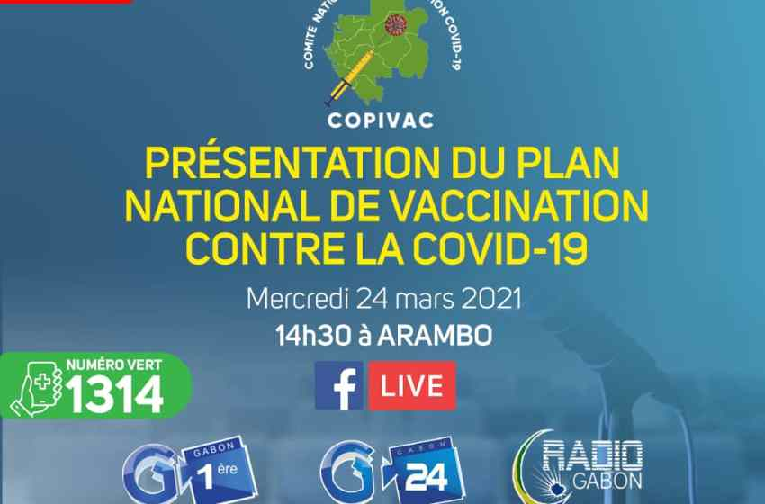 Gabon/Copivac: Présentation du plan national de vaccination contre la covid-19