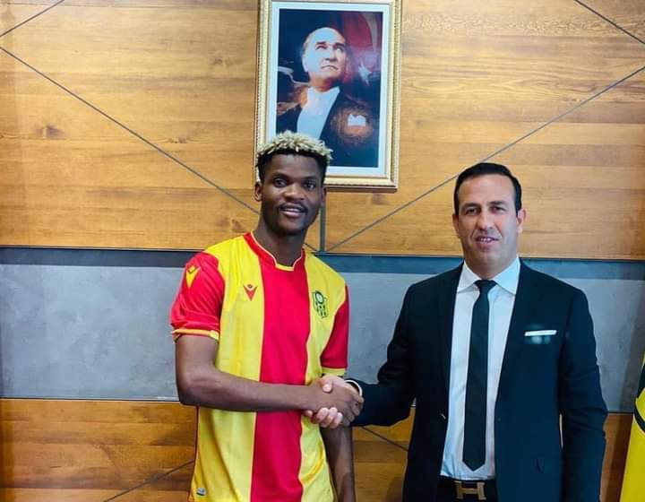 Gabon/Mercato: Didier Ibrahim Ndong rejoint le club turc Yeni Malatyaspor