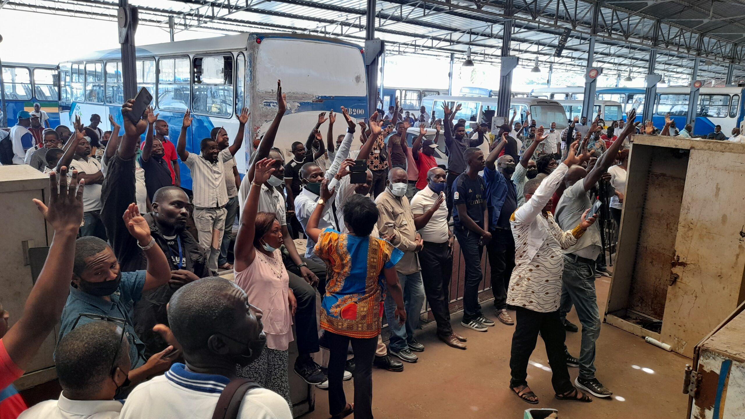 Gabon/Transport: les employés de la SOGATRA de nouveau en grève