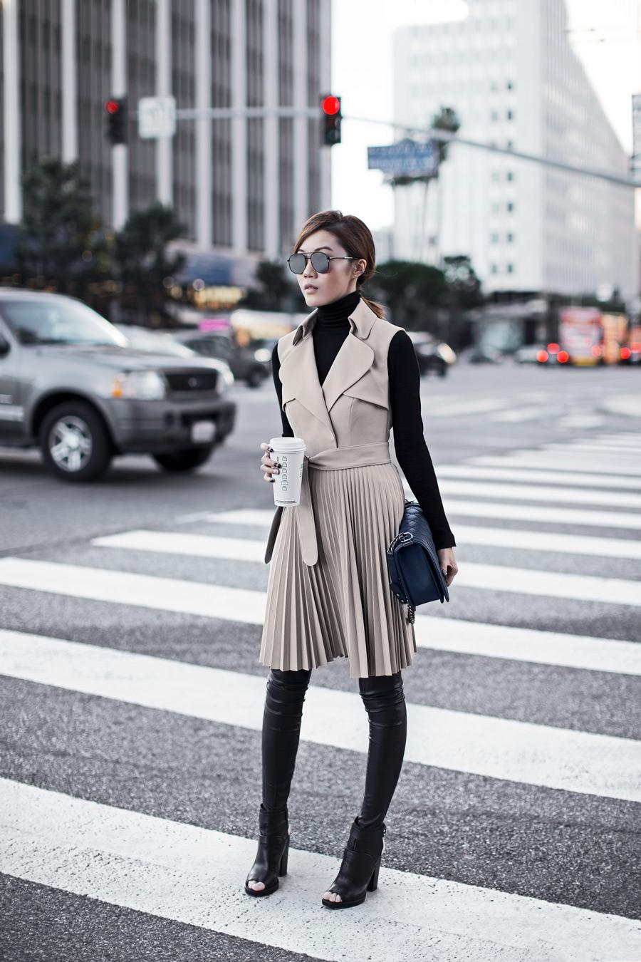 Trench Coat Dress TSANGTASTIC