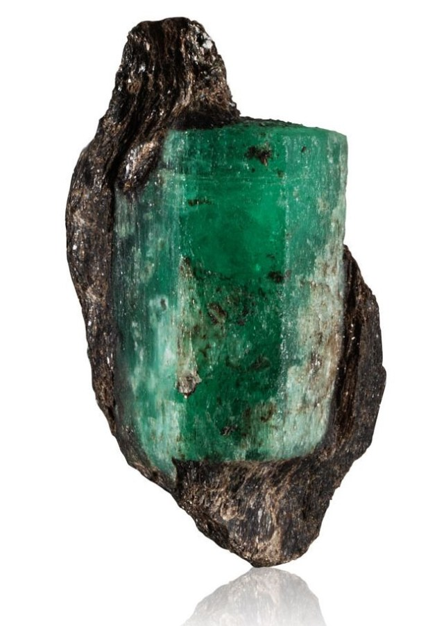 Ural emerald crystal