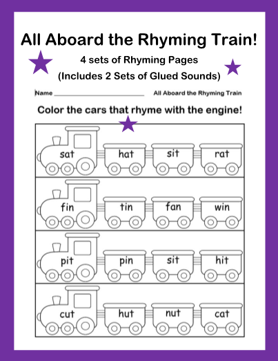 all aboard the rhyming