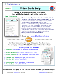 Worksheet for Bill Nye - Atoms and Molecules