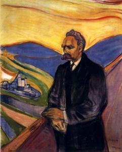 Portrait of F. Nietzsche by E. Munch, 1906