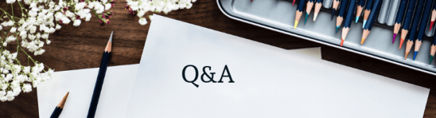 Q&A Advice for Young Writers