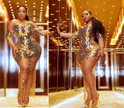 Curvaceous Actress, Moesha Boduong puts her Enormous