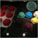 Rum-Rosen-Cupcakes