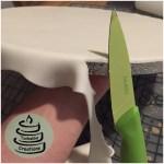 Cakeboard eindecken