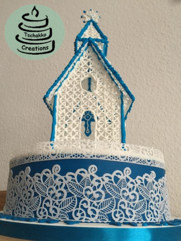 Making of Icing Kirche 7