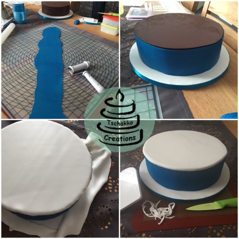 Making of Icing Kirche 5