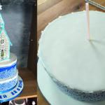 Royal Icing Kirche 2.0 – Tortenstapeln leicht gemacht
