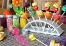 Frische Frühlings-CakePops