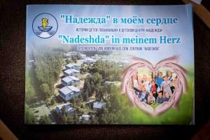 Broschüre Nadeshda in meinem Herzen