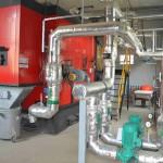 Holzhackschitzel-Heizkessel: 100% erneuerbare Energie