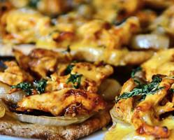Naan or Pita Pizza