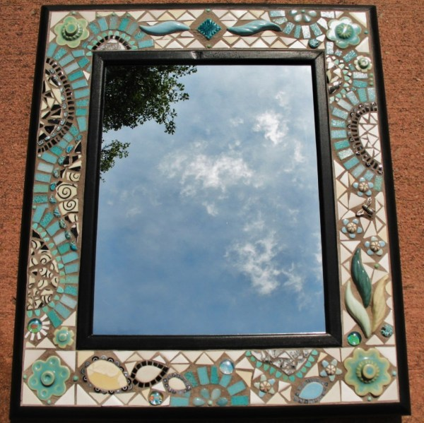 Glass Mosaic Tile Mirror Frames
