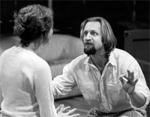 Rehearsal scene from 1997 production of The Seagull.