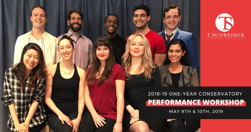 T. Schreiber 2019-19 One Year Performance Workshop