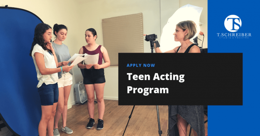 Teen Acting Classes Acting Program NYC Acting Classes for Kids