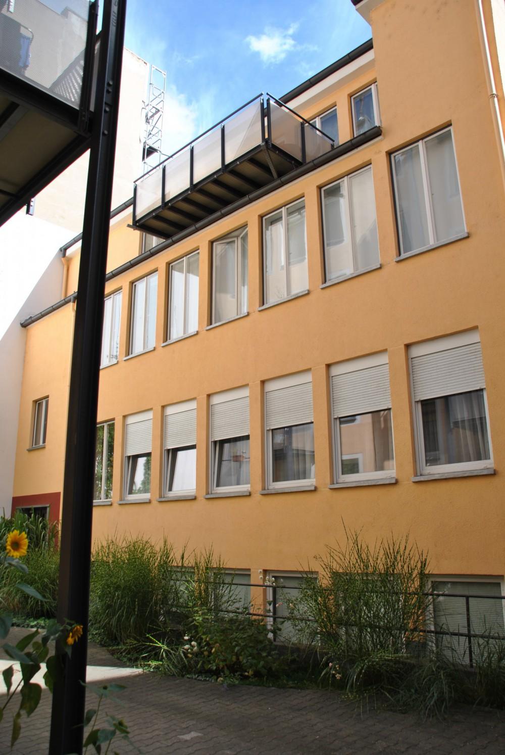 Neue Loft Wohnungen und Balkone  Architektin Antje Tschunt