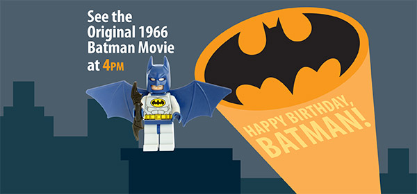 Happy Birthday Batman Topeka Amp Shawnee County Public