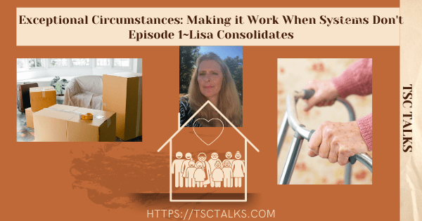 TSC Talks: Exceptional Circumstances, Making it Work When Systems Don't Episode 1~Lisa Consolidates