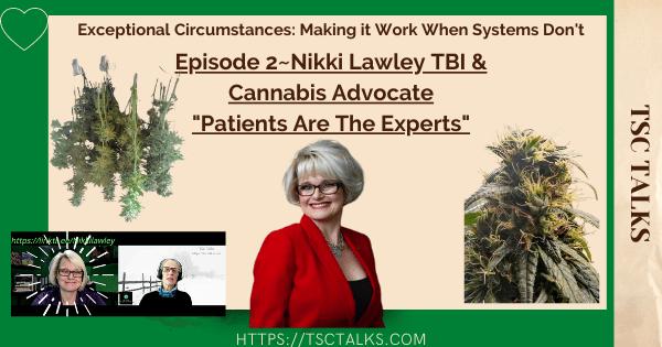 TSC Talks Guest Nikki Lawley Exceptional Circumstances