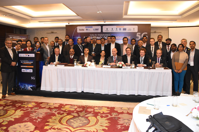 Distinguished speakers@5G Technology Landscape Workshop held