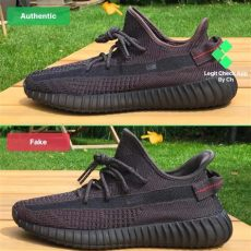 vs real yeezy boost 350 v2 black reflective and non reflective - Fake Yeezy Boost 350 V2 Vs Real