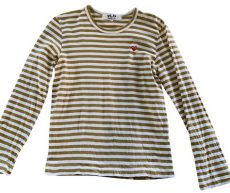 comme des gar 199 ons play shirt size 10 m tradesy - Comme Des Garcons Play Shirt Sizing