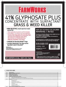 farmworks 41 glyphosate plus reviews farmworks 41 glyphosate plus concentrate herbicide wound